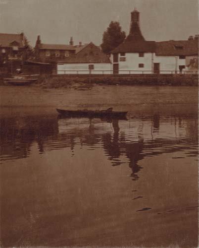 """2033021: COBURN, ALVIN LANGDON (1882-1966) """"Skiff on th"""