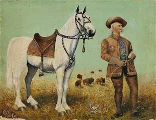 "FREDERICK STANTON PERKINS William F. ""Buffalo Bill"""