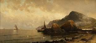 ALFRED THOMPSON BRICHER Low Tide, South Head, Grand