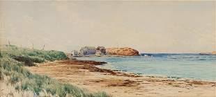 ALFRED THOMPSON BRICHER A Coastal Scene.
