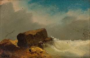 EDWARD RUGGLES Three oil paintings.