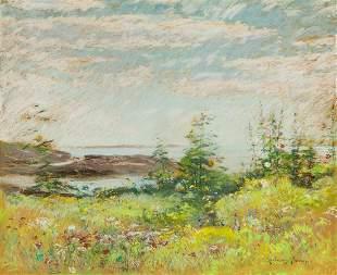 JOHN APPLETON BROWN Celia Thaxter's Garden and View of