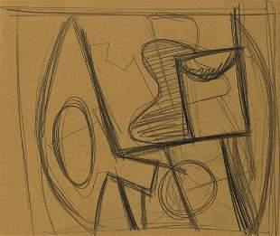 ARSHILE GORKY Abstract Still Life.