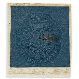 (AMERICAN REVOLUTION--PRELUDE.) Stamp from the Stamp
