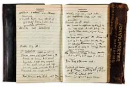 NEW YORK CITY John K Porter Diary kept by the