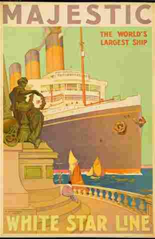 William James Aylward (1875-1958). MAJESTIC / WHITE