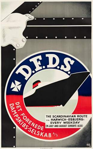 Helge Refn 19081985 DFDS THE SCANDINAVIAN