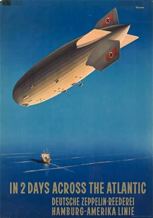 Ottomar Anton (1895-1976). IN 2 DAYS ACROSS THE
