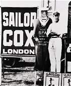 BILL BRANDT (1904-1983) Sailor Cox, Bookmaker, Epsom.