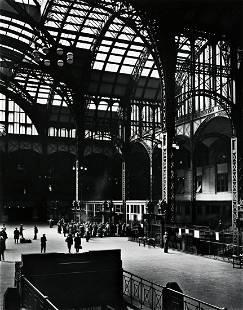 BERENICE ABBOTT (1898-1991) Pennsylvania Station