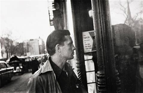 ALLEN GINSBERG (1926-1997) Jack Kerouac looking in