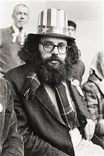 FRED W. MCDARRAH (1926-2007) Allen Ginsberg (Peace