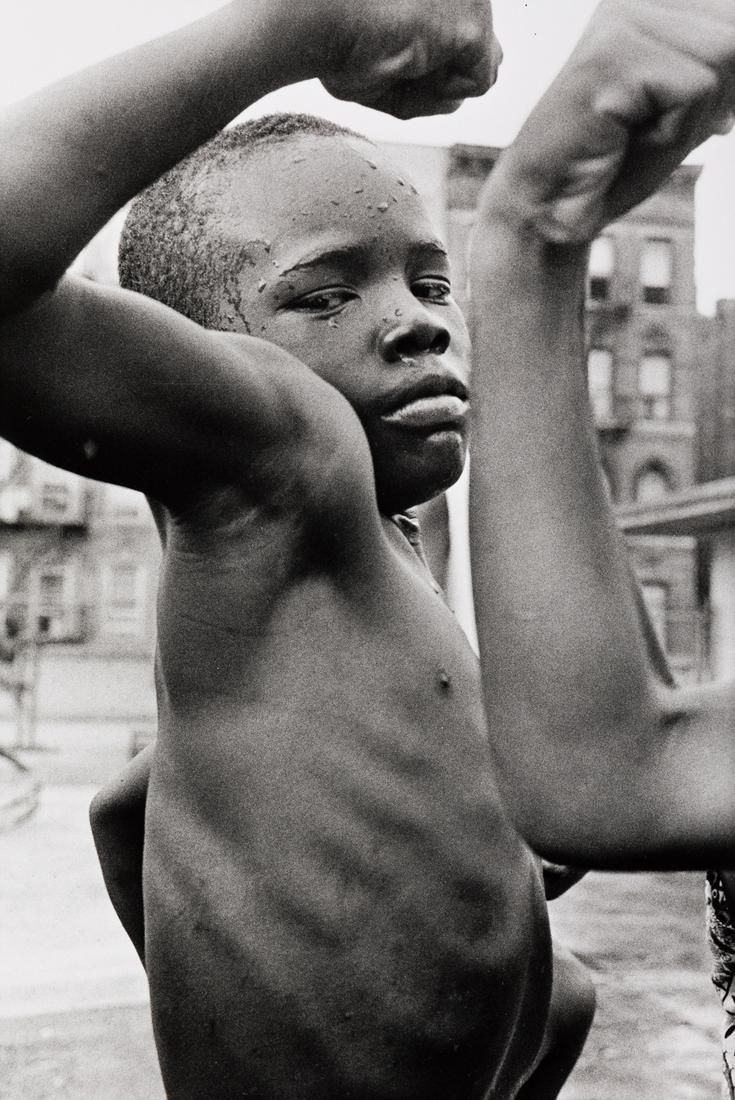 LEONARD FREED (1929-2006) Harlem, N.Y., USA (Muscle