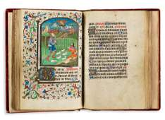Book of Hours with Illuminated Miniatures. France,