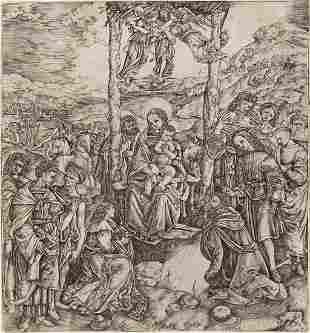 CRISTOFANO DI MICHELE MARTINI, IL ROBETTA The Adoration