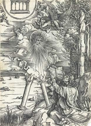ALBRECHT DÜRER St. John Devouring the Book.