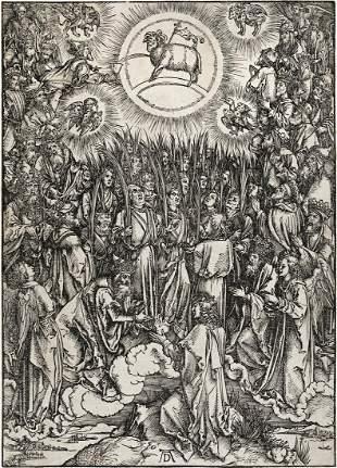 ALBRECHT DÜRER The Adoration of the Lamb.