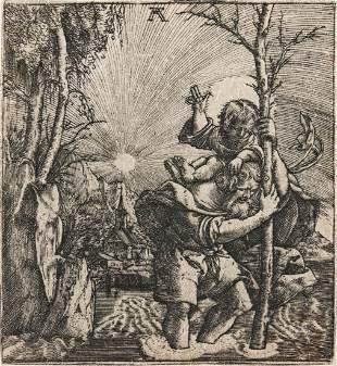 ALBRECHT ALTDORFER Saint Christopher