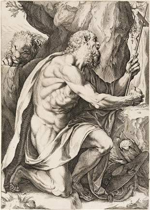 AGOSTINO CARRACCI Saint Jerome
