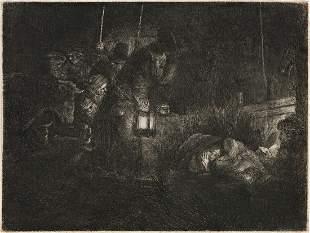 REMBRANDT VAN RIJN The Adoration of the Shepherds: A