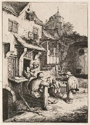 ADRIAEN VAN OSTADE Collection of 13 etchings