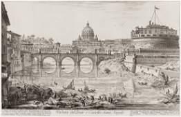 GIOVANNI B. PIRANESI Veduta del Ponte e Castello