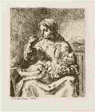 JEANFRAN199OIS MILLET La Bouillie