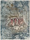 ROBERTO MATTA Les Damnations by Joyce Mansour