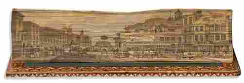 (FORE-EDGE PAINTING.) Finden's Illustrations of
