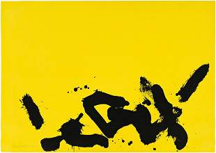 ADOLPH GOTTLIEB Lemon Yellow Ground.