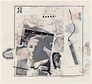 ROBERT RAUSCHENBERG Dwan Gallery Poster