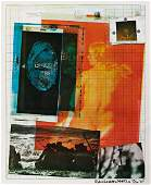 ROBERT RAUSCHENBERG Paris Review Poster
