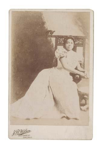 "2034330: JONES, SISSERIETTA; The ""Black Patti."" Photogr"