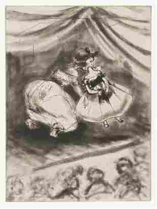 KARA WALKER (1969 - ) Four etchings.