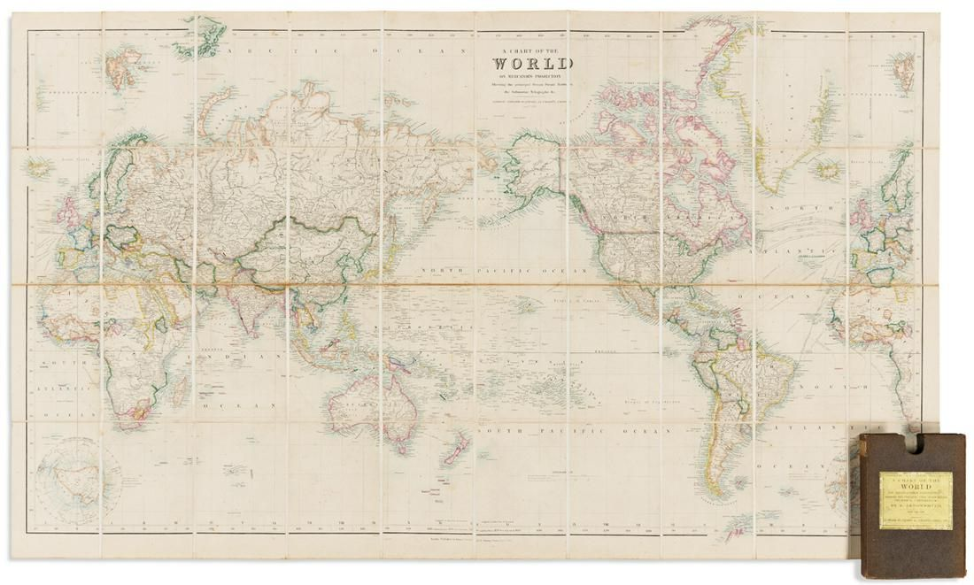 ARROWSMITH, JOHN; and EDWARD STANFORD. A Chart of the