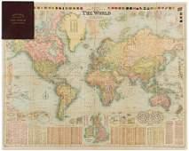 BACON, GEORGE WASHINGTON. Bacon's New Chart of the
