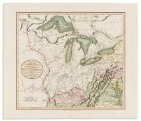 CARY, JOHN. A New Map of Part of the United States of