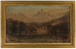 BIERSTADT ALBERT The Rocky Mountains Landers Peak