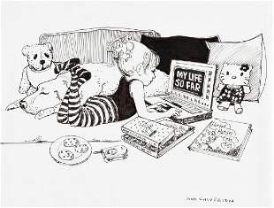 "JOAN CHIVERTON (20th century) ""My Life So Far."""
