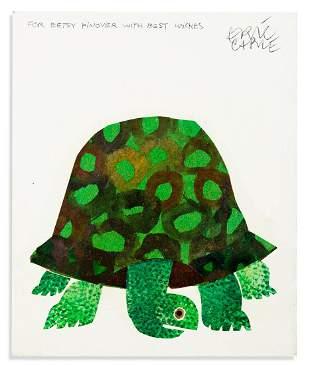ERIC CARLE (1929- ) The Foolish Tortoise. [CHILDRENS /
