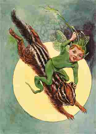 E.M.K. (active early 20th century) The Elfin Chipmunk