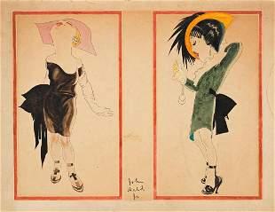 JOHN HELD, JR. (1889-1958) Flappers.