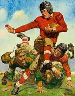 "JOSEPH F. KERNAN (1878-1958) ""College Football."""