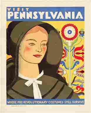 KATHERINE MILHOUS (1894-1977) Visit Pennsylvania /