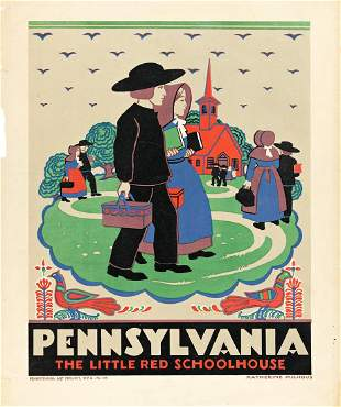 KATHERINE MILHOUS (1894-1977) Pennsylvania / The Little