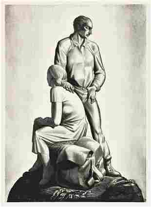ROCKWELL KENT (1882-1971) And Now Where?