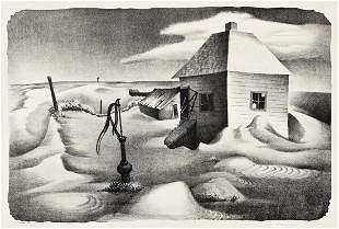 BERNARD STEFFEN (1907-1980) Blown Soil.