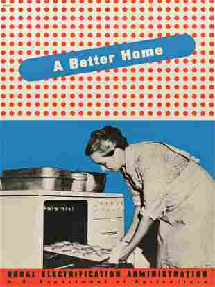 LESTER BEALL (1903-1969) A Better Home / Rural