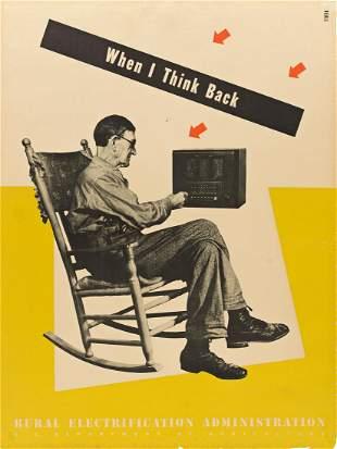 LESTER BEALL (1903-1969) When I Think Back / Rural