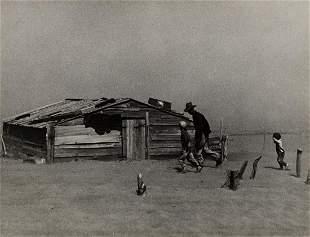 ARTHUR ROTHSTEIN (1915-1985) Dust Storm, Cimarron